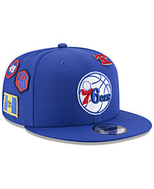 New Era Boys' Philadelphia 76ers On-Court Collection 9FIFTY Snapback Cap