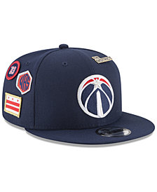 New Era Boys' Washington Wizards On-Court Collection 9FIFTY Snapback Cap
