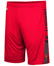 Colosseum Men's Louisville Cardinals Perfect Season Shorts