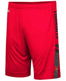 Colosseum Men's Louisville Cardinals Perfect Season Shorts