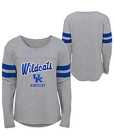 Outerstuff Kentucky Wildcats Field Armor Long Sleeve T-Shirt, Girls (4-16)