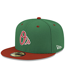New Era Baltimore Orioles Green Red 59FIFTY FITTED Cap