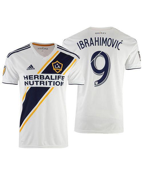 pretty nice b1250 df968 Zlatan Ibrahimovic LA Galaxy Primary Replica Jersey, Big Boys (8-20)