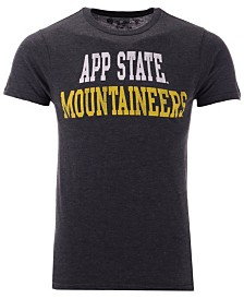 Retro Brand Men's Appalachian State Mountaineers Team Stacked Dual Blend T-Shirt