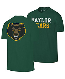 Retro Brand Men's Baylor Bears Team Stacked Dual Blend T-Shirt