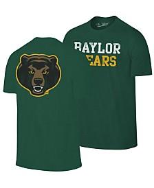 Retro Brand Men's Baylor Bears Team Stacked Dual Blend T-Shirt