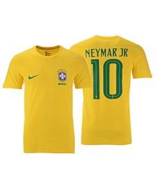 Men's Neymar Brazil National Team Player T-Shirt