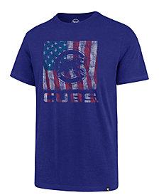 '47 Brand Men's Chicago Cubs Pastime Flag T-Shirt