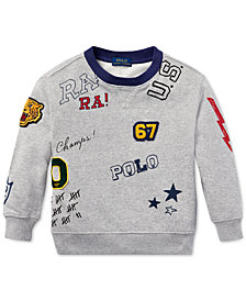 Polo Ralph Lauren Little Boys Graphic Cotton Sweatshirt