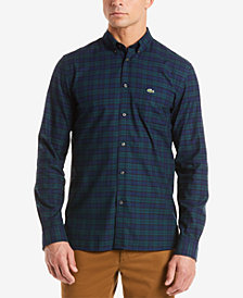 Lacoste Men's Plaid Shirt