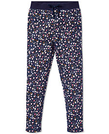 Polo Ralph Lauren Toddler Girls Floral-Print Cotton Pants