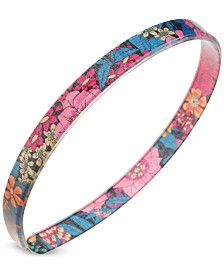 France Luxe Floral-Print Ultracomfort Headband