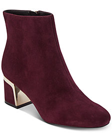DKNY Corrie Ankle Booties, Created For Macy's