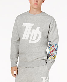 Tommy Hilfiger Denim Men's Graffiti Sweatshirt, Created for Macy's