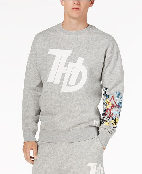 Tommy Hilfiger Mens Graffiti Sweatshirt Created For Macys