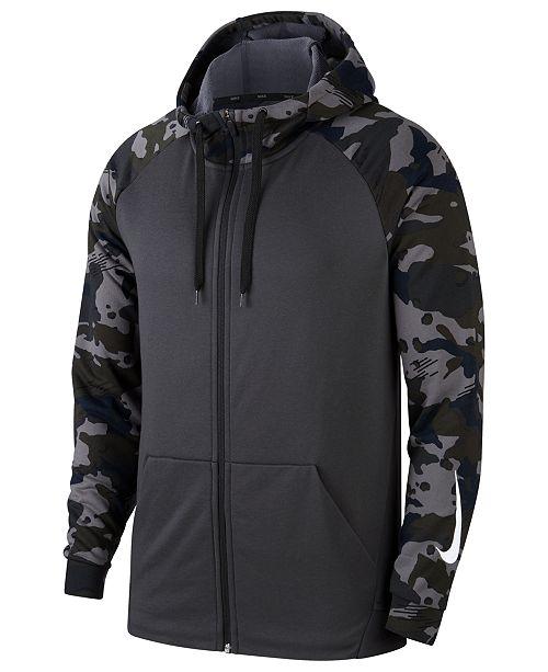 Nike Men s Dry Fleece Training Hoodie   Reviews - Hoodies ... 5a60d2b63