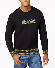 G-Star RAW Men's Tahire Graphic Sweatshirt, Created for Macy's
