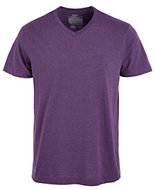 Alfani Men's Cotton V-Neck Heathered Undershirt, Created for Macy's
