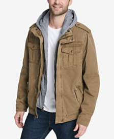 Levi's® Men's Two Pocket Hooded Trucker Jacket