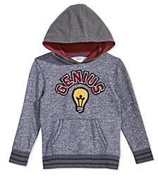 Epic Threads Little Boys Genius-Print Hoodie, Created for Macy's