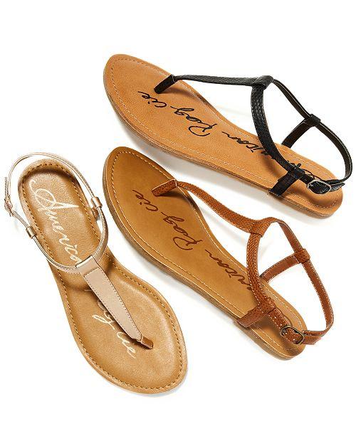 Flat Macy's Krista SandalsCreated For T Strap vnONP0wym8
