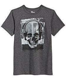 Epic Threads Big Boys Skull Music-Print T-Shirt, Created for Macy's