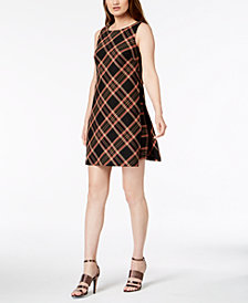 Trina Turk Brynne Plaid Shift Dress