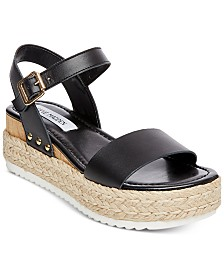 074760a9cf73 Steve Madden Women s Kimmie Flatform Espadrille Sandals   Reviews ...