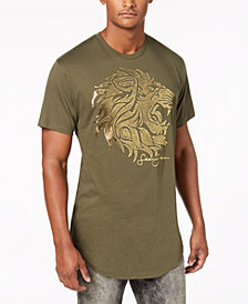 Sean John Men's Regal Lion Graphic T-Shirt