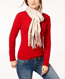 Calvin Klein Ombré Stripe Woven Scarf