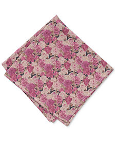 Bar III Men's Nobles Floral Pocket Square, Created for Macy's