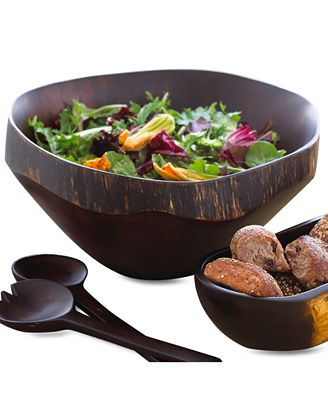 Heart of Haiti Wood Serveware Collection