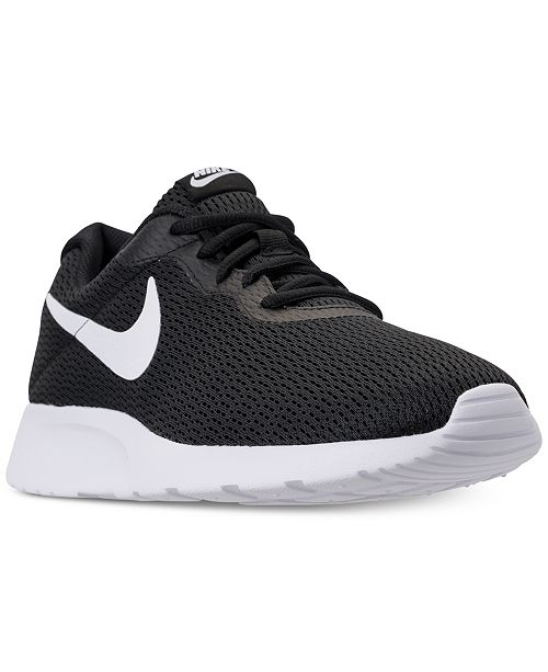 Nike Men's Tanjun Wide Width Casual Sneakers from Finish Line