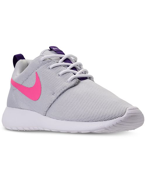 watch 93c3a ede0c ... Nike Women s Roshe One Casual Sneakers from Finish ...