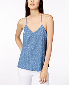 Calvin Klein Jeans Cotton Printed Tank Top