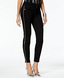 Thalia Sodi Striped Skinny Jeans, Created for Macy's