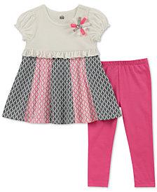 Kids Headquarters Baby Girls 2-Pc. Tunic & Leggings Set