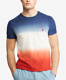 Polo Ralph Lauren Men's Big & Tall Ombre Classic Fit Cotton T-Shirt