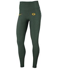 Nike Women's Green Bay Packers Core Power Tight Leggings