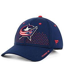 Authentic NHL Headwear Columbus Blue Jackets Draft Structured Flex Cap