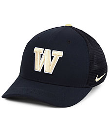 Nike Washington Huskies Col Aro Swooshflex Cap