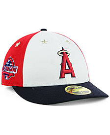 New Era Los Angeles Angels All Star Game Patch Low Profile 59FIFTY Fitted Cap 2018