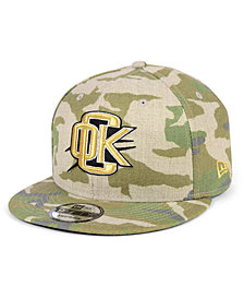New Era Oklahoma City Thunder Combo Camo 9FIFTY Snapback Cap