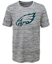 Nike Philadelphia Eagles Velocity Legend Travel T-Shirt, Big Boys (8-20)