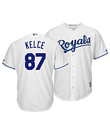 Majestic Men's Travis Kelce Kansas City Royals NFLPA Replica Cool Base Jersey