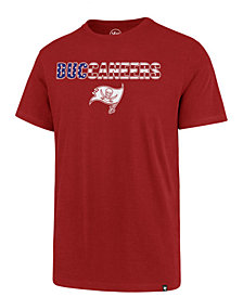 '47 Brand Men's Tampa Bay Buccaneers Spangled Banner Club T-Shirt