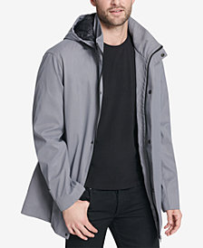 DKNY Men's Big & Tall All Man's Parka with Detachable Hood, Created for Macy's
