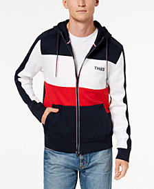 Tommy Hilfiger Men's Cunningham Front-Zip Hoodie, Created for Macy's