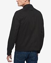 c56d9774725 Tommy Hilfiger Black Mens Jackets   Coats - Macy s