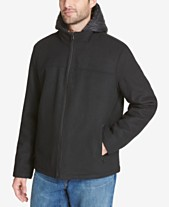 7eef846083d8b Tommy Hilfiger Men s Full-Zip Hooded Wool Jacket